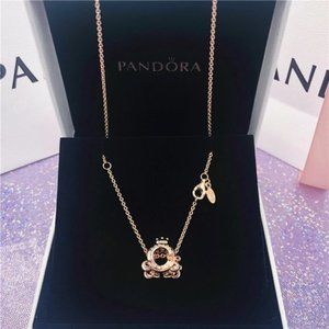 🏮Pandora necklace set 17.7 inch
